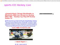 sports ICE Hockey Live