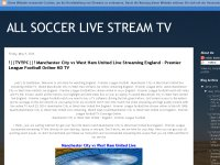ALL SOCCER LIVE STREAM TV