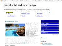 hotel and room design