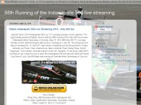 98th Running of the Indianapolis 500 live streamin