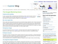 The LEADSExplorer blog