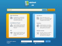 adshort.us , Short URLs, short links,  earn money, link advertising, url shortener