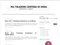 PLC Training Institutes in India