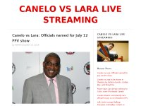 CANELO VS LARA LIVE STREAMING