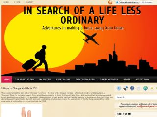 In Search of a Life Less Ordinary