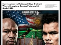 Mayweather vs Maidana 2 Live Online|| Watch Showti