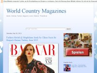 World Country Magazines