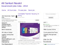 All Sarkari Naukri - Government Jobs India - 2014