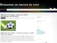 streaming match foot