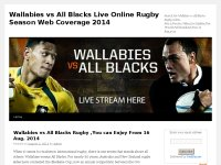 Wallabies vs All Blacks Live Online Rugby Season