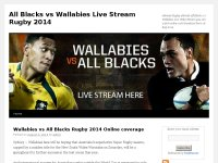 All Blacks vs Wallabies Live Stream Rugby 2014