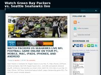 Green Bay Packers vs. Seattle Seahawks live NFL