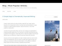 Blog Blogging and Blogger | Most Popular Articles | All kind of topics