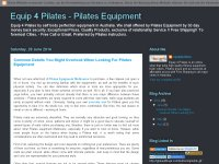 Equip 4 Pilates - Pilates Equipment
