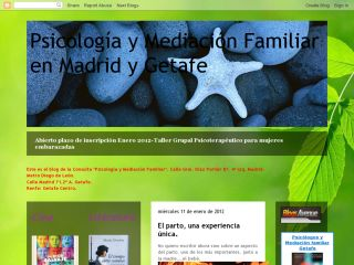 Psychotherapy and family mediation Madrid