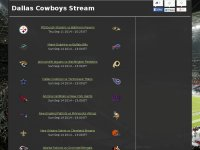 Watch Live Dallas Cowboys Nfl Game