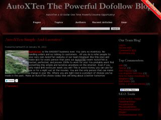 AutoXTen The Powerful DoFollow Blog