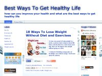 Best Ways To Get Healthy Life