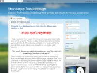 Abundance Breakthrough