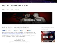FURY VS CHISORA LIVE STREAM