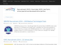 JobForm - Recruitment 2015