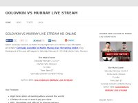 GOLOVKIN VS MURRAY LIVE STREAM