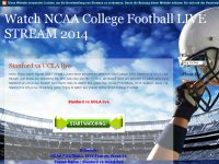 Watch NCAA College Football LIVE STREAM 2014