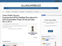 ALLNAUKRIBUZZ education blog in india 2014