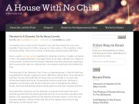 A House WIth No Child