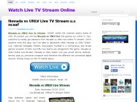 Search Watch Live TV Stream Online