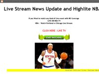Live Stream News Update and Highlite NBA
