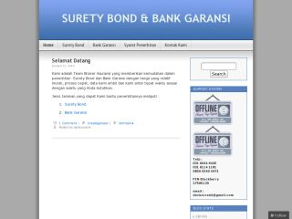 Surety Bond Bank Garansi
