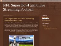 NFL Super Bowl 2015 Live Streaming Football