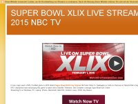 SUPER BOWL XLIX LIVE STREAM 2015