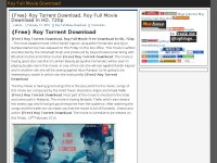 Roy Full Movie Download