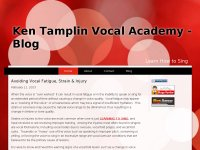 Ken Tamplin Vocal Aacdemy - Blog
