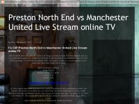 Preston North End vs Manchester United Live Stream