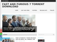 Fast And Furious 7 Torrent Download