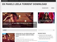 Ek Paheli Leela Full Movie Download