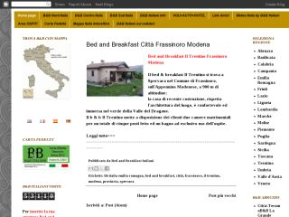 Bed and Breakfast Italy