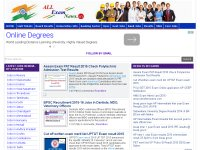 All Exam News|University Results|Recruitment