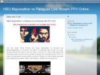Watch Mayweather vs Maidana Live Streaming HBO PPV 2015.