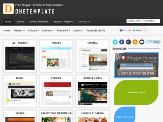 Free Blogger Templates Daily Updates