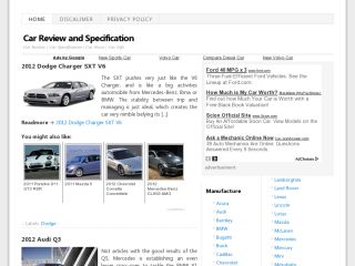 Car Review And Specification