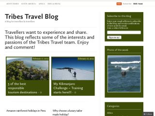 Luxury Tailor Made Travel Blog