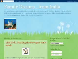 Family Dreams from India