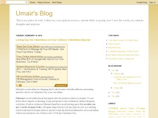 Umair's Blog