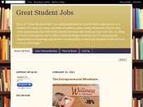 Great Student Jobs and Work at Home Opportunities