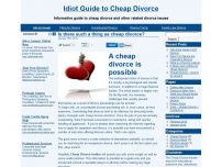 Secrets to a Cheap Divorce - An Essential Guide
