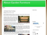 about garden furniture